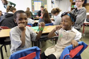 pic 2 IMG 9183 1 300x200 - Ludden, CAP students partner to make spirits bright