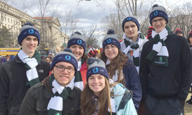 Cheers, roars, and total silence at pro-life events