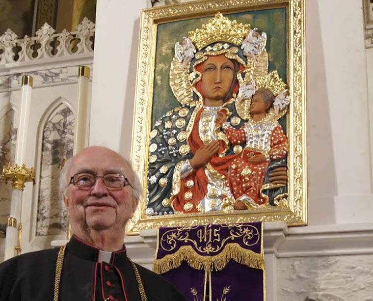 Icon of Mary revered at Holy Trinity in Utica