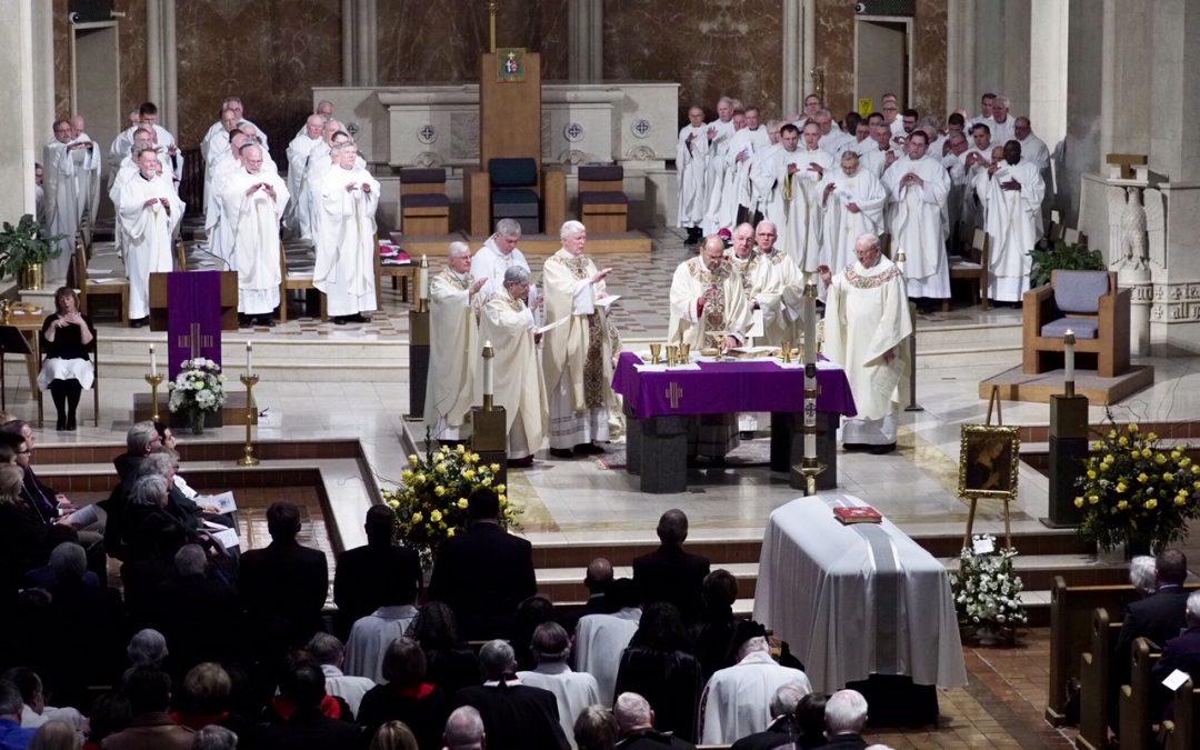 Bishop James M. Moynihan laid to rest