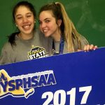 Lexi and Hanna hold banner e1490014415772 1 150x150 - Seton Saints win state tourney of champions semifinal