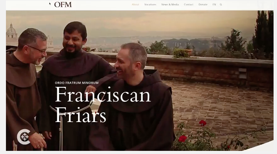 With new website, Franciscans opt for their own 'hip-hop' style