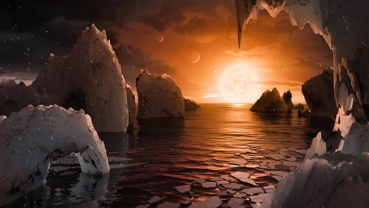 Discovery of planets boosts hope of finding alien life