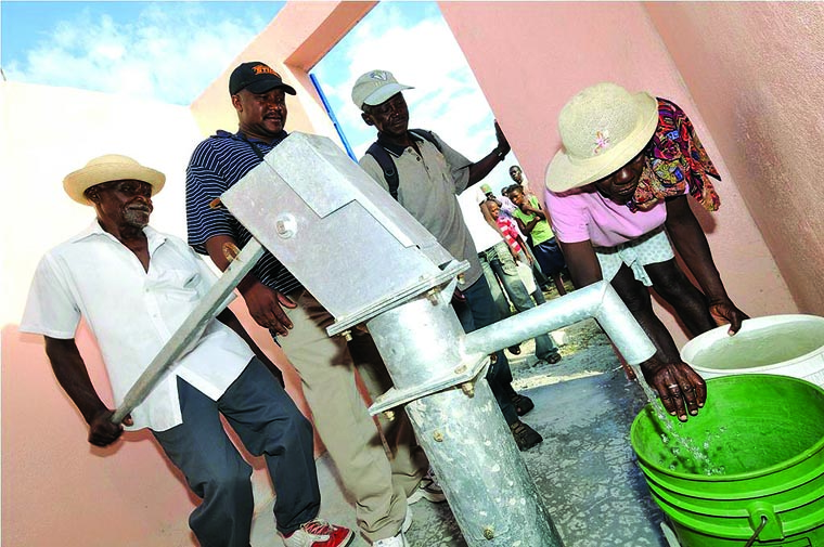 Liverpool parish raises thousands for well in Haiti