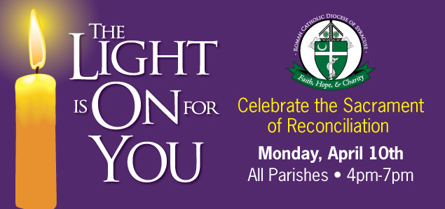 Light is On Lent 2017 Web sz 1 - The Light will be On for diocesan-wide evening of Confession
