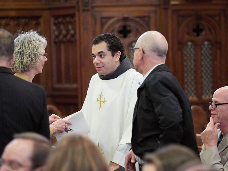 'Scenic route' leads to Father Nader's ordination