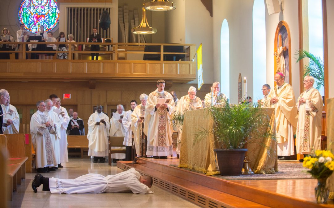 Called to serve: Matthew Rawson ordained to transitional diaconate