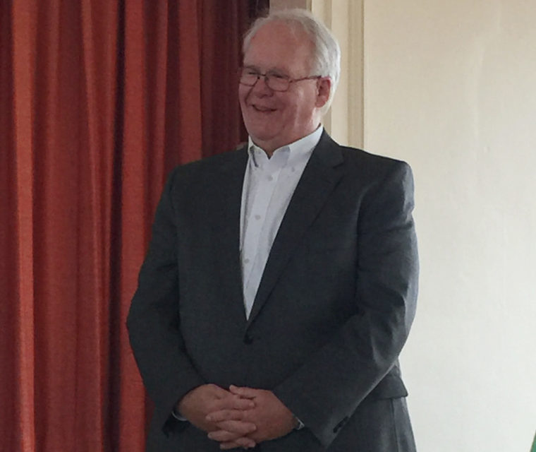 Parker retires after 16 years as head of fundraising