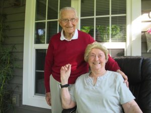 page 9 Luke and Ruth Pesane 1 300x225 - Lessons from Luke: Longtime IC parishioner turns 100