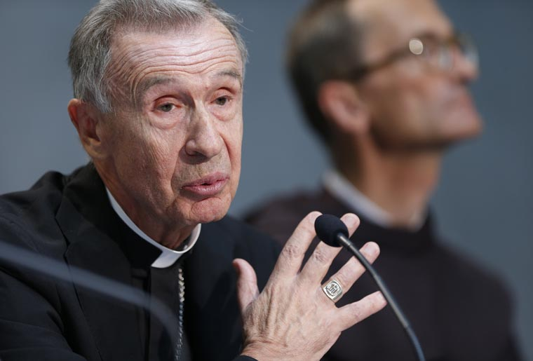 Pope names archbishop to succeed Cardinal Muller at doctrine office