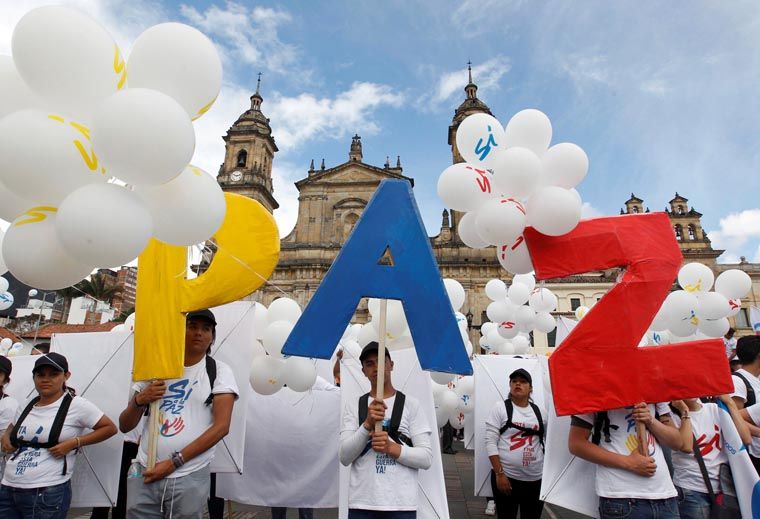 Church in Colombia a 'prophetic voice' for peace, priest says