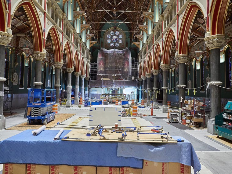 Cathedral of the Immaculate Conception to Offer Tours of Restoration during AmeriCU Arts & Crafts Festival July 28 & 29 2017