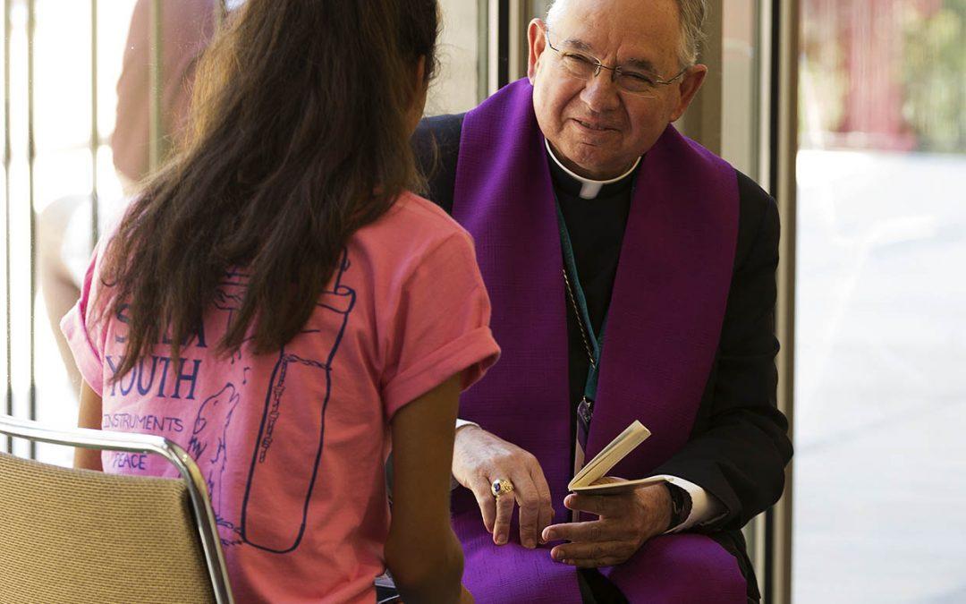 Let Jesus be 'your teacher, your life coach,' archbishop urges teens