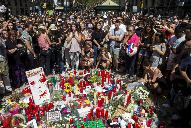 Catholic leaders urge prayers, unity after attacks in Spain