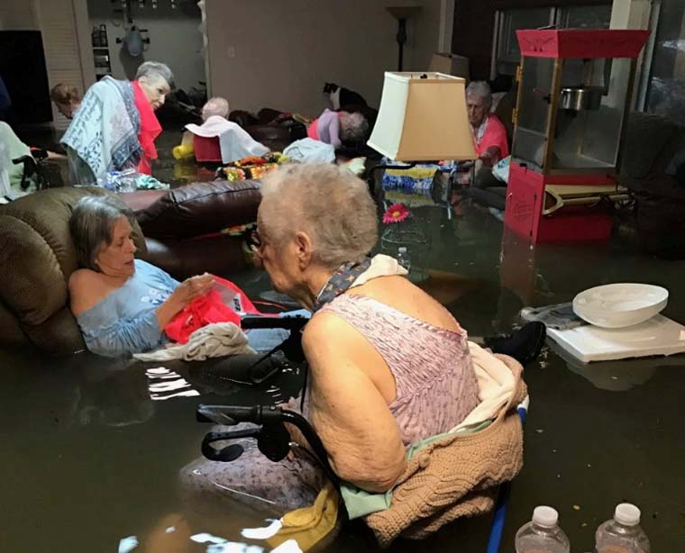 Pope offers prayers for victims of flooding in Texas, Louisiana