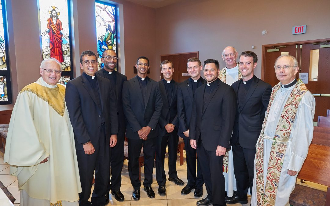Jesuit novices pronounce first vows
