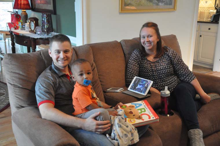 Couple says they were touched by love when they opened hearts to adoption