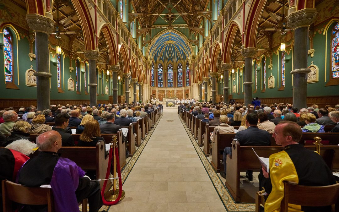 Cathedral rededication attendees speak of emotion, beauty, and a sense of welcome