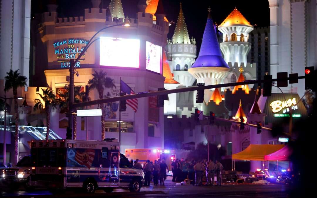 Las Vegas Catholic shrine an initial place of refuge for shooting victims