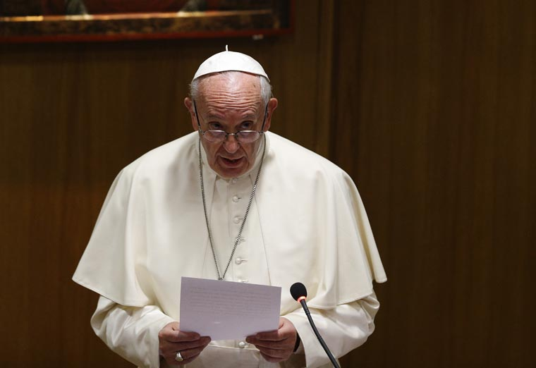 Death penalty is 'contrary to the Gospel,' pope says