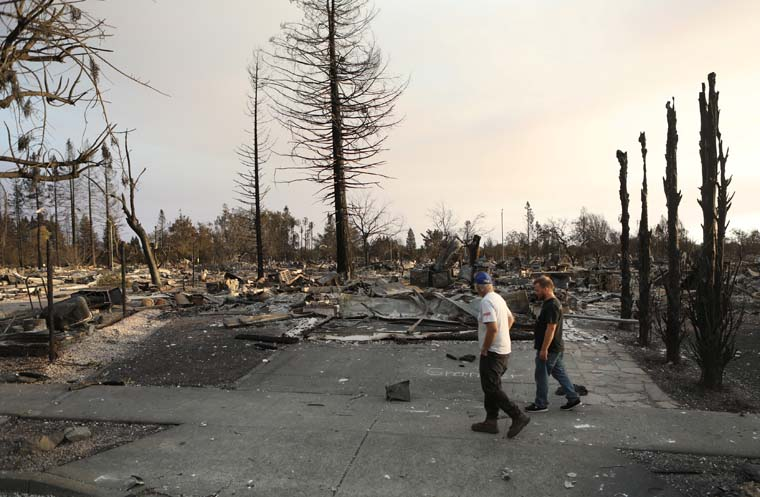 Long-term recovery ahead for California communities hit hard by wildfires