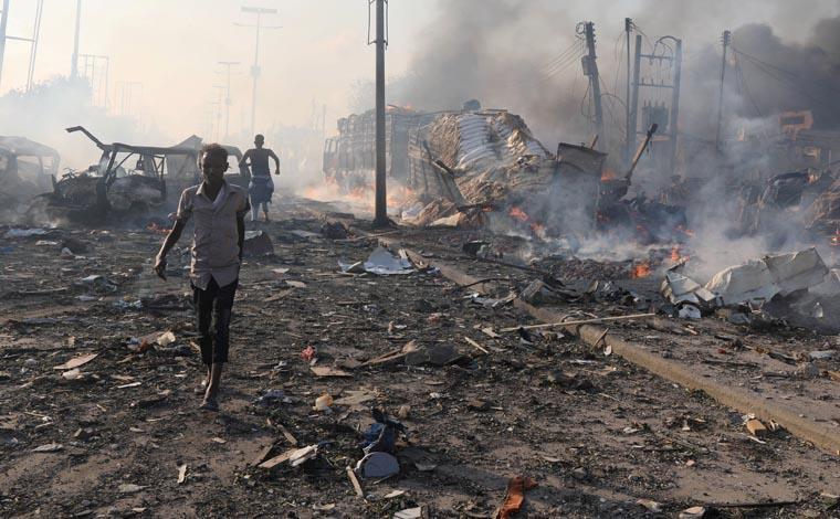 Pope condemns deadly terrorist attack in Somalia