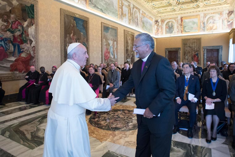 Pope: Common witness of faith can strengthen Catholics, Methodists