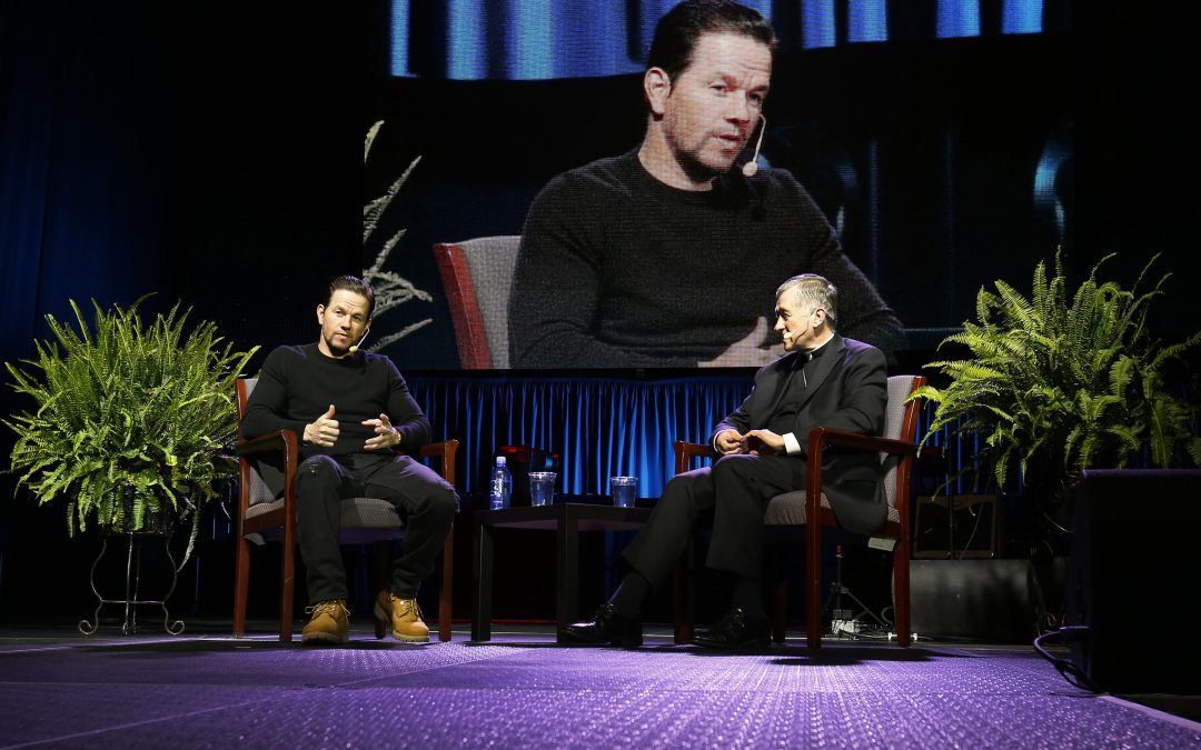 Actor Mark Wahlberg's faith journey leaves impression on young adults