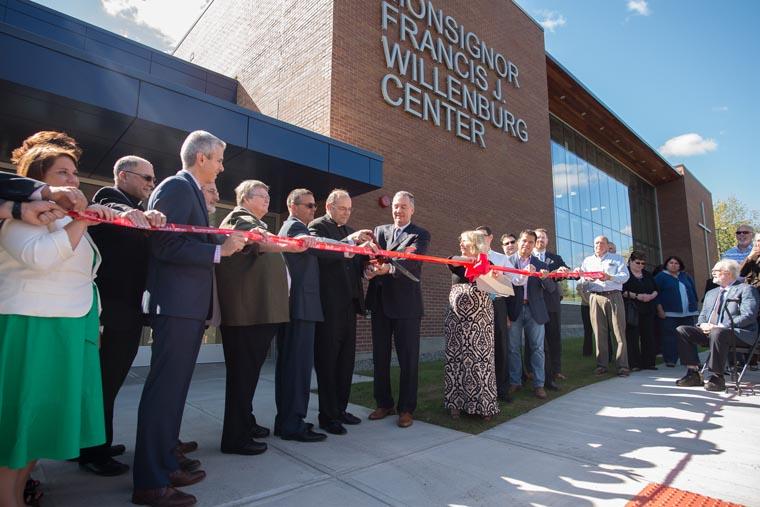 ND gem beckons all Uticans: Newly blessedWillenburg Center enhances Notre Dame