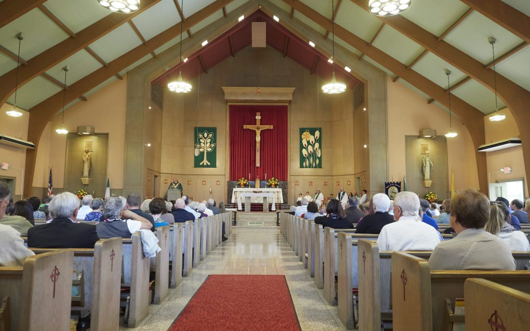 Final Mass celebrated at St. Brigid & St. Joseph: 'Life has changed, not ended,' Bishop Cunningham tells parish