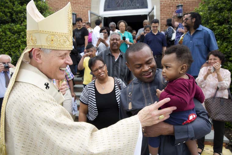 Cardinal Wuerl urges Catholics to confront, help overcome sin of racism
