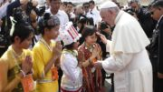 20171127T0257 63 CNS POPE MYANMAR ARRIVE 180x101 - PAPAL VISIT MYANMAR BANGLADESH