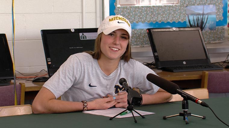 Ludden record-holder signs with Wolverines