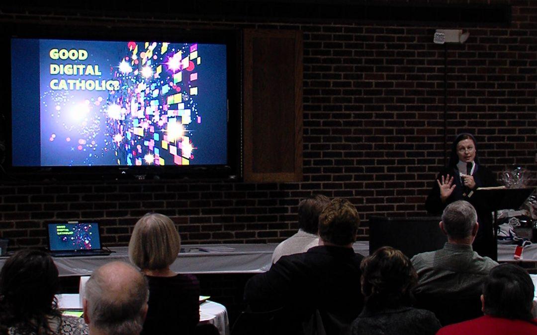 Visiting 'media nun' offers insights on media literacy, being 'digital Catholics'