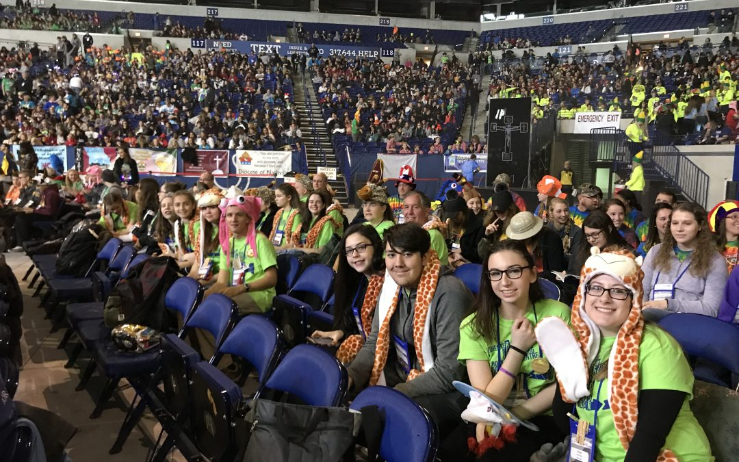 Teens from diocese attend 'life-changing' national gathering