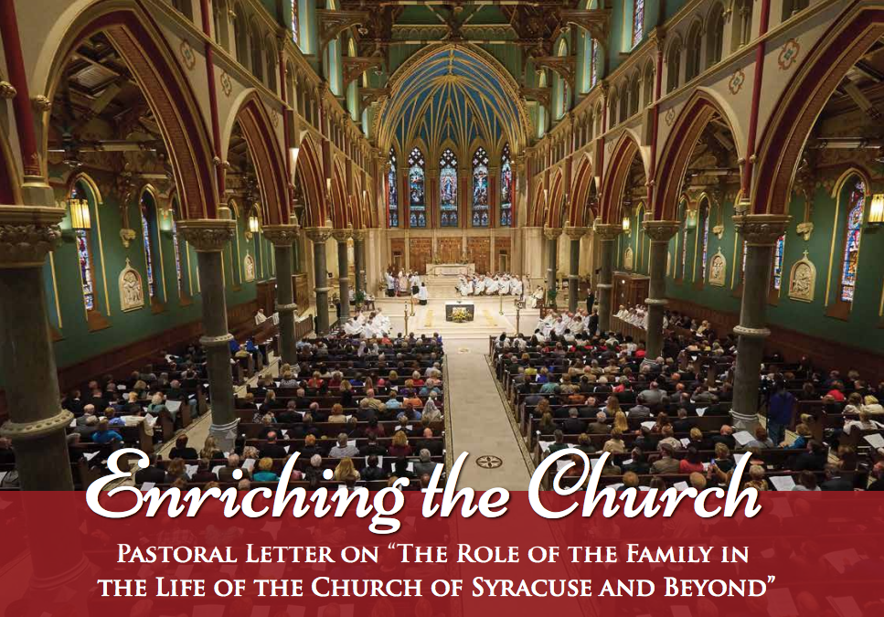 Bishop Robert J. Cunningham introduces new pastoral letter