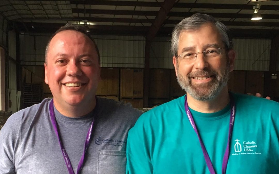 After the flood: Local Catholic Charities staff offer help, hope in Houston