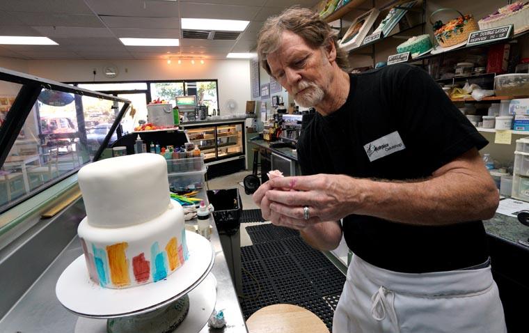 High court rules in favor of baker in same-sex wedding cake case