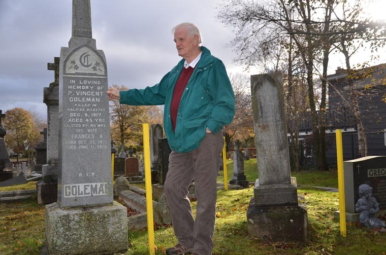 In Nova Scotia, cemeteries tell story of 1917 ship collision, explosion