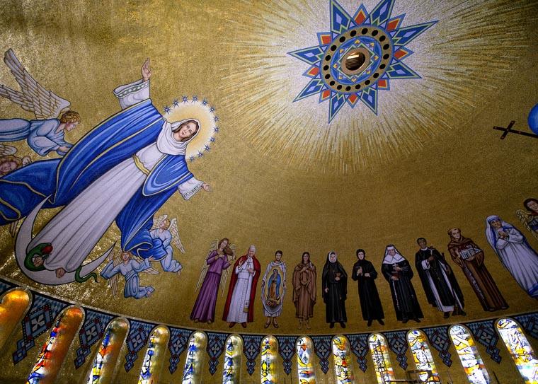 'Crowning jewel' of national shrine — Trinity Dome Mosaic — dedicated