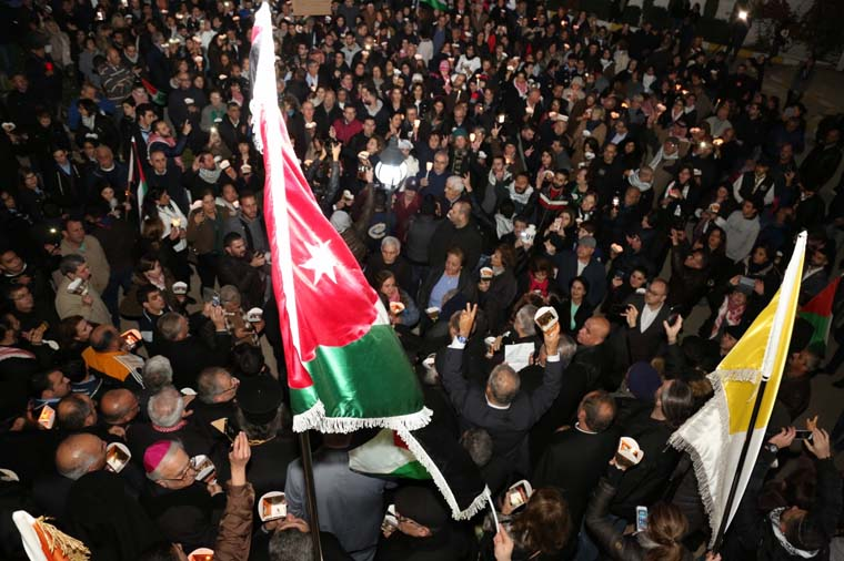 Lebanon's religious oppose Trump's Jerusalem move; Jordanians march