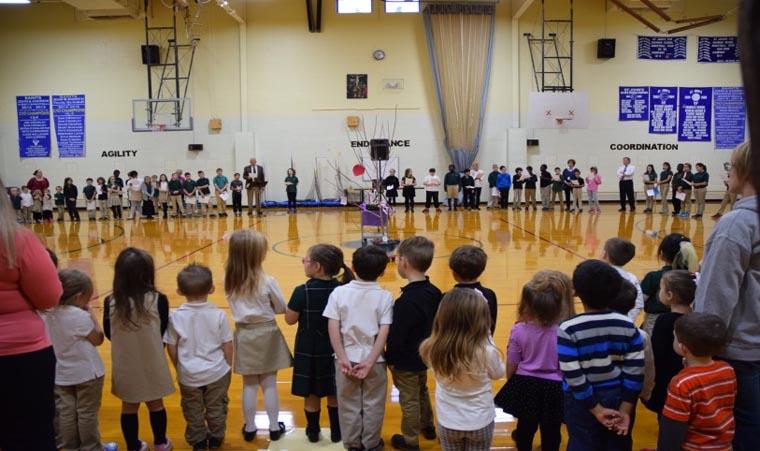 St. John the Evangelist School celebrates Advent