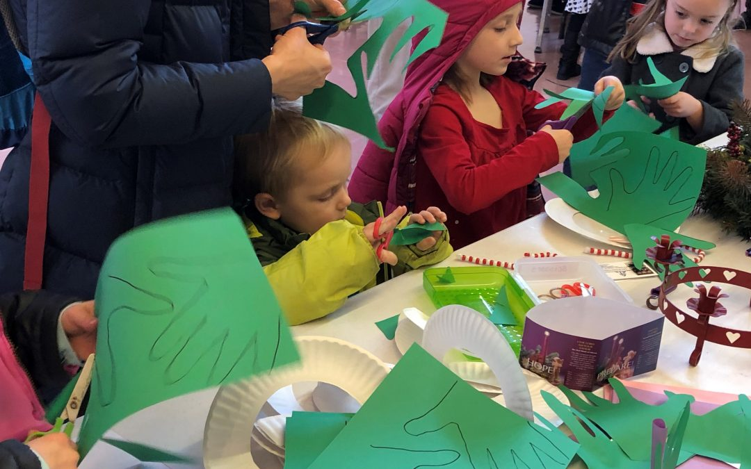 St. Joseph and St. Stephen in Oswego host intergenerational Christmas event