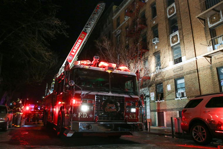 Priest asks for prayers for victims of Bronx fire and their families