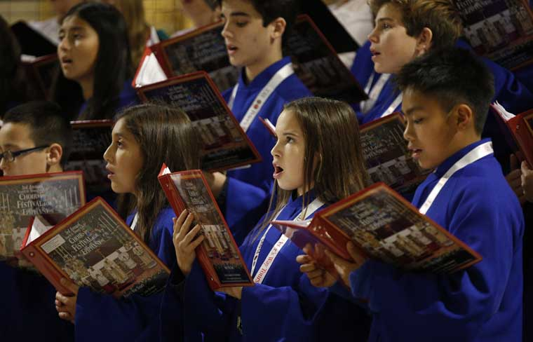 Sound of music: Vatican offers ordinary choirs extraordinary venues