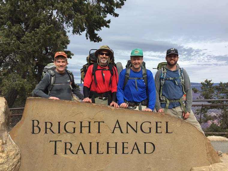 Diocesan priests hiking the Grand Canyon inspired by 'grandeur of God'