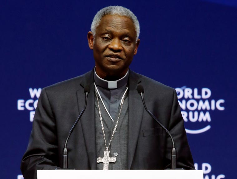 Support families, human dignity, pope tells global leaders at Davos
