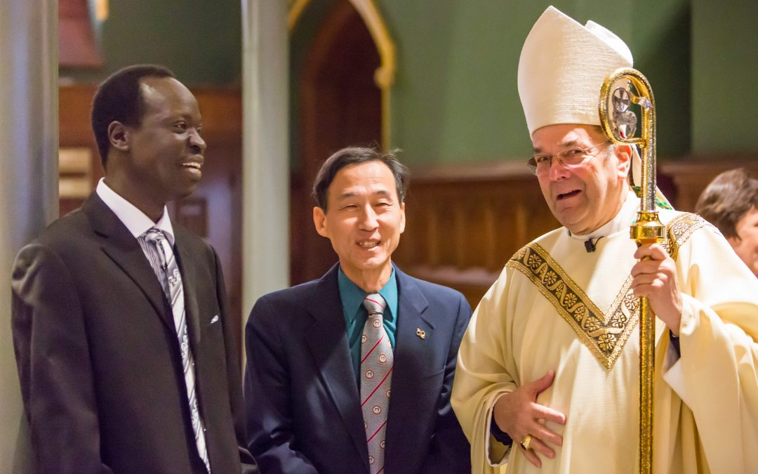 'No one is an outsider in God's family,' bishop affirms at Migration Week Mass