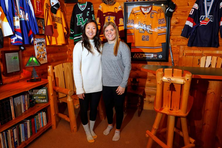 Sisters from Minnesota Catholic schools play on separate Olympic teams