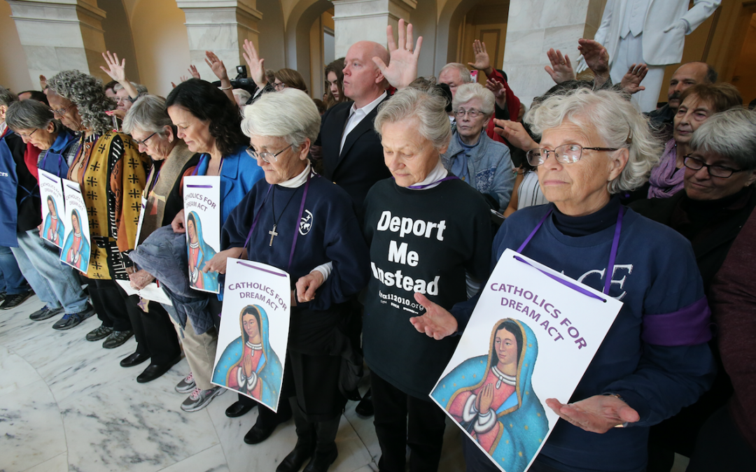 Dozens of Catholics arrested as they ask Congress to help 'Dreamers'